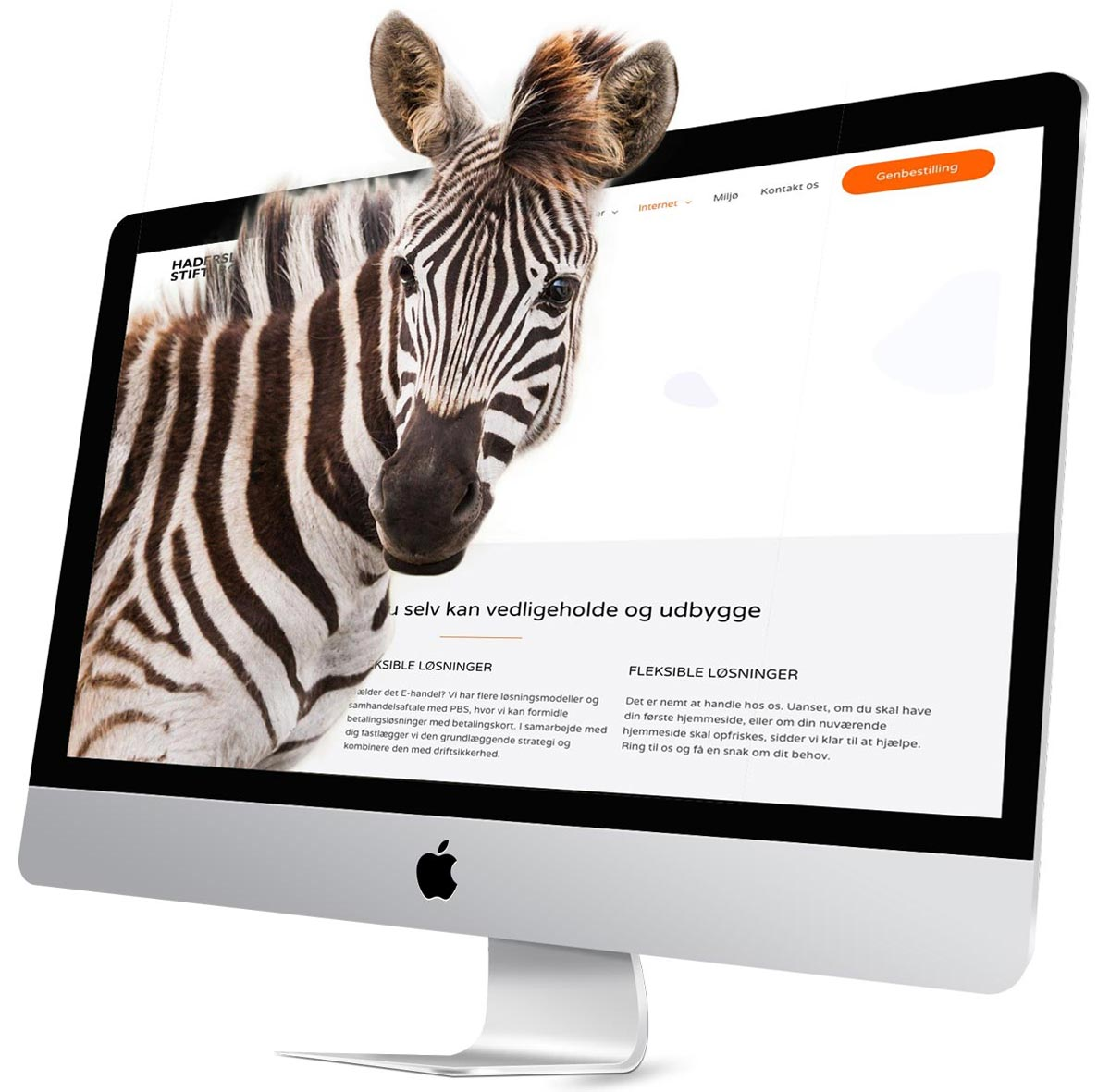Hjemmesiden du selv kan vedligeholde og udbygge